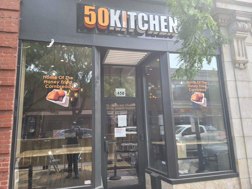 the front of 50Kitchen in Dorchester