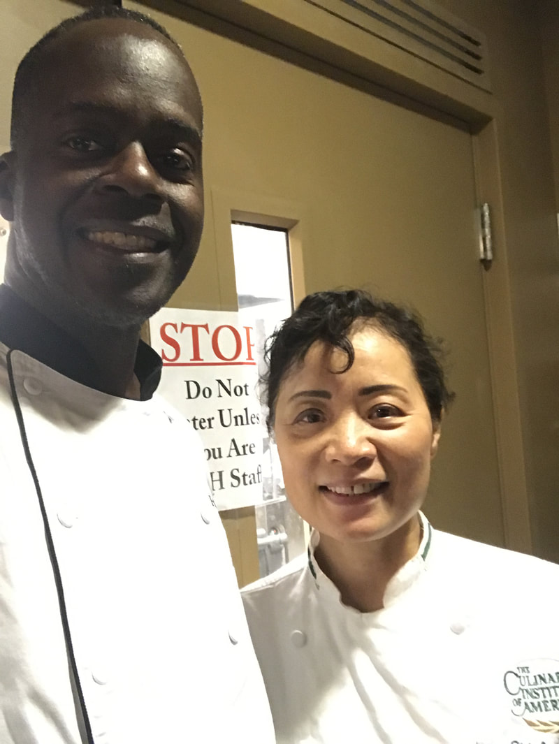 Authentic Asian Cuisine training with the Amazing Chef Shirley Cheng from the Culinary Institute of America.