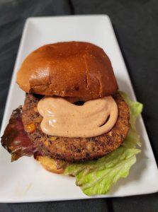 50Kitchen's Chipotle Black Bean Burger