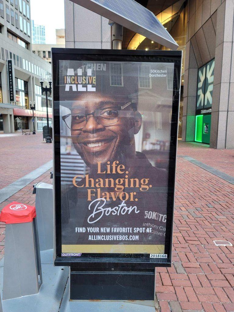 image from boston's all inclusive campaign featuring 50kitchen in dorchester